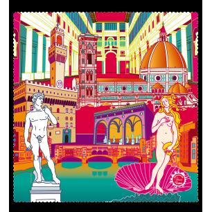 Tissu microfibre pour lunettes - Belle Vue City - Florence