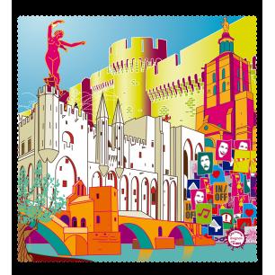 Tessuto in microfibra per occhiali - Belle Vue City - Avignon