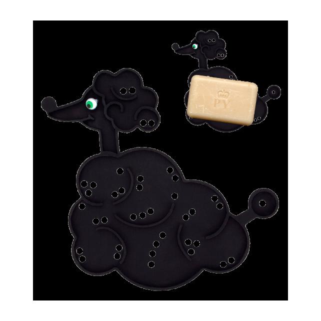 Bulle - Porte savon Noir