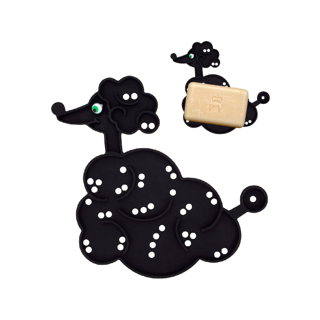 Bulle - Porte savon Black
