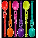 Swimming Spoon - Set de 6 cuillères à café