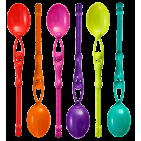 Swimming Spoon - 6er-Set Teelöffel
