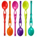Set of 6 teaspoons - Swimming Spoon