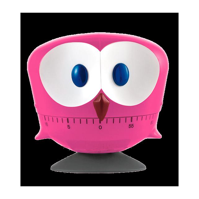 Kitchen timer - Minut'hibou Pink