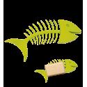 Fishbone Soap - Porte-savon Verde