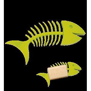 Seifenschale - Fishbone Soap - Grün