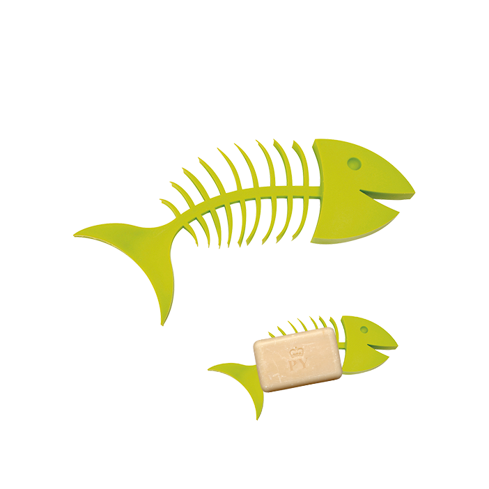 Fishbone Soap - Porte-savon Green