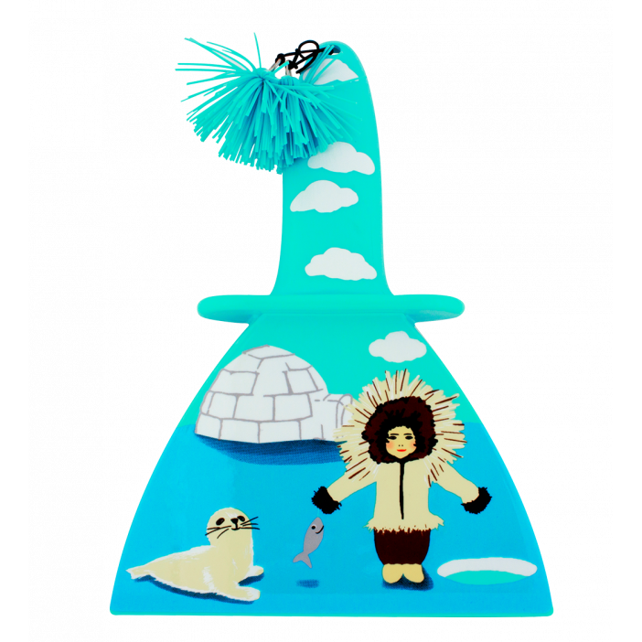 Raschietto per il ghiaccio - Ice Screen Inuit