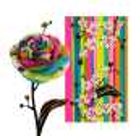 Scarf - Balade Rosa