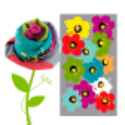 Foulard - Balade Cactus