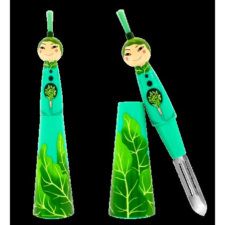 Samuraï - Sparschäler Dunkelrot