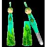 Samuraï - Epluche légumes Grün