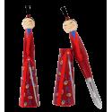 Samuraï - Epluche légumes Rosso scuro