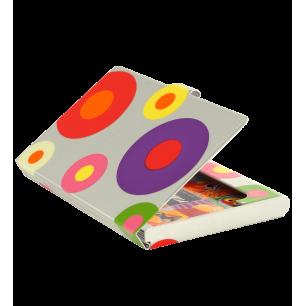 Porte cartes de visite - Busy - Silver Spots