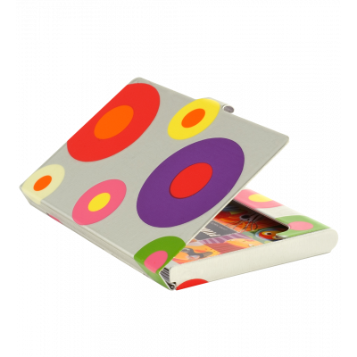 Business card holder - Busy - Silver Spots