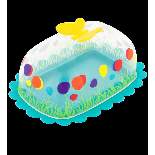 Butter dish - Butter Fly Blue