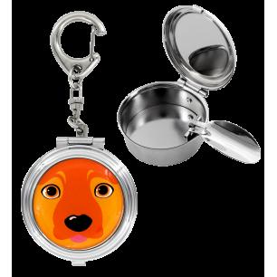 Taschen-Aschenbecher - Cend'Art - Brown Dog
