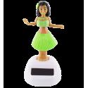 Solarfigur - Hawaïan Girl Gelb