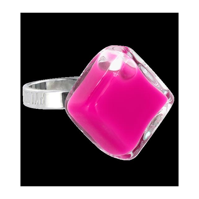Losange Nano Milk - Glass ring