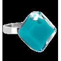 Losange Nano Milk - Anello in vetro