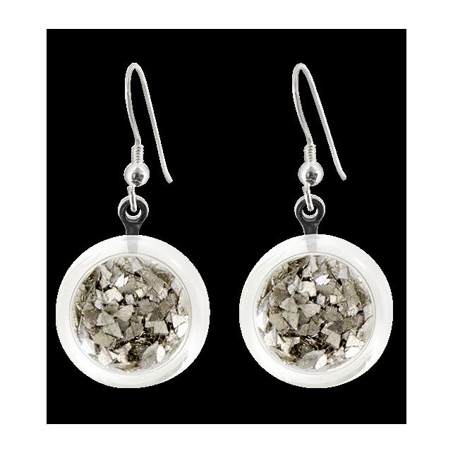 Cachou Paillettes - Boucles d'oreilles crochet Silber