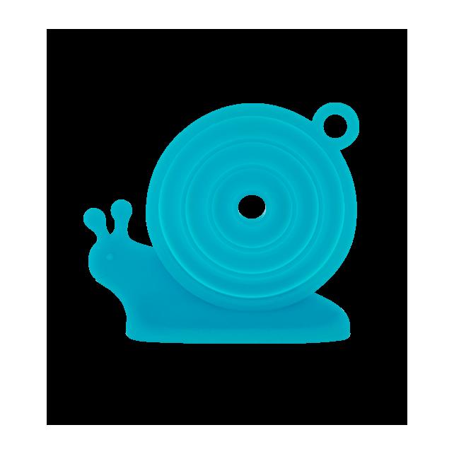 Escargot - Entonnoir rétractable Blue