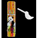 Empty perfume spray bottle - Flairy White Cat