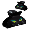 Ladyclip Large - Pince à cheveux crabe Black Cat
