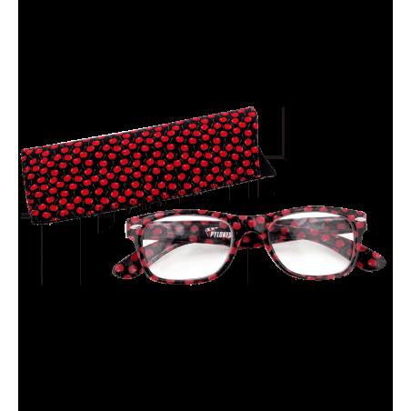 Korrekturbrille - Lunettes X4 Carrées Cherry