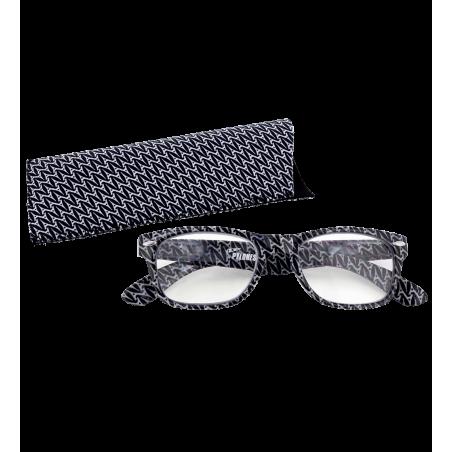 Lunettes x4 Carrées Eiffel N&B – Korrekturbrille