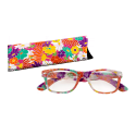 Korrekturbrille - Lunettes X4 Carrées Flowers 100