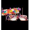 Lunettes X4 Carrees Flowers - Occhiali correttivi 100