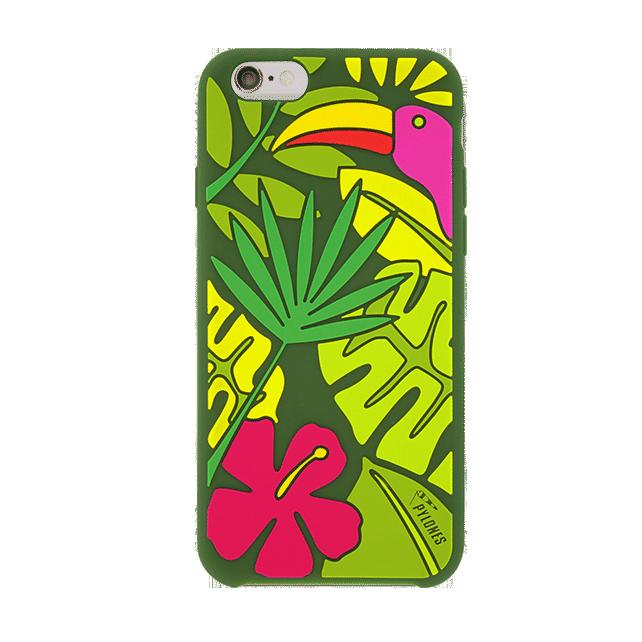 Tropical Jungle - Coque souple pour iPhone 6 Green