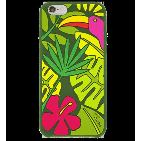 Tropical Jungle - Coque souple pour iPhone 6
