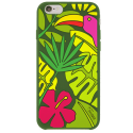Tropical jungle - Cover morbida per iPhone 6