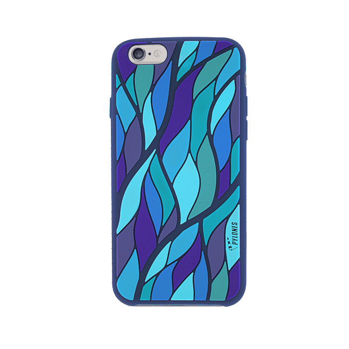 Tropical Jungle - Coque souple pour iPhone 6 Blau