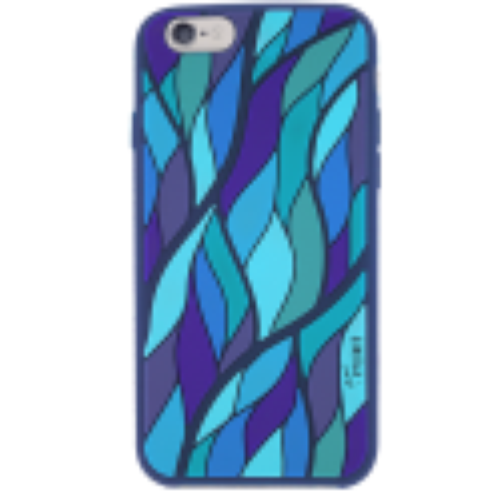 Weiche Schale für iPhone 6 - Tropical Leaf