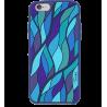 Tropical Jungle - Coque souple pour iPhone 6 Blue