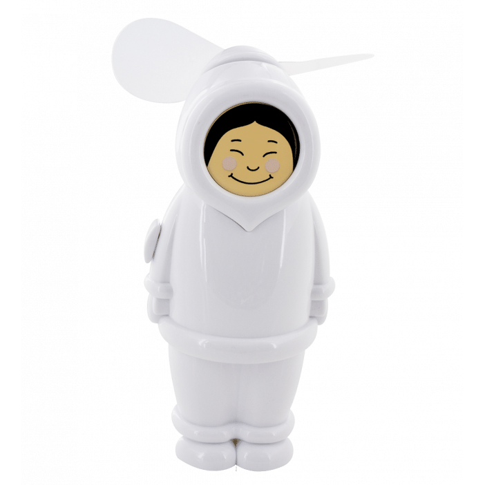 Eskimo - Ventilateur de poche Girl White