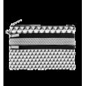 Zip My Pocket - Pochette 3 zips Noir