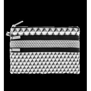 Zip My Pocket - Pochette 3 zips
