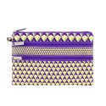 Zip My Pocket - 3 zip pouch