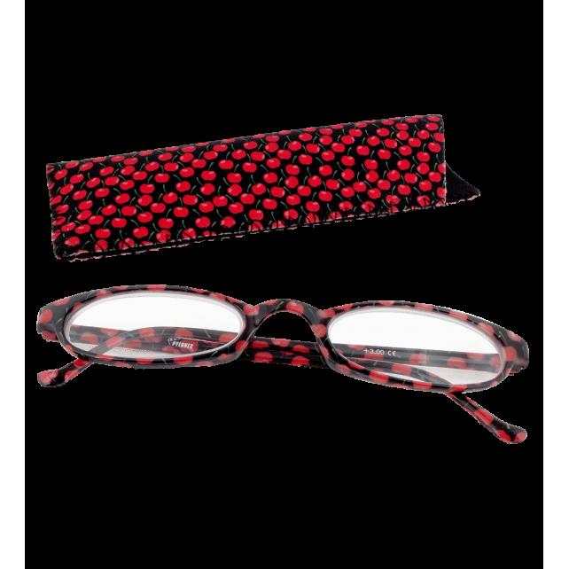 Korrekturbrille - Lunettes X4 Ovales Cherry