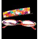 Lunettes x4 Ovales Flowers - Corrective lenses 150