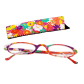 Lunettes x4 Ovales Flowers - Corrective lenses 300