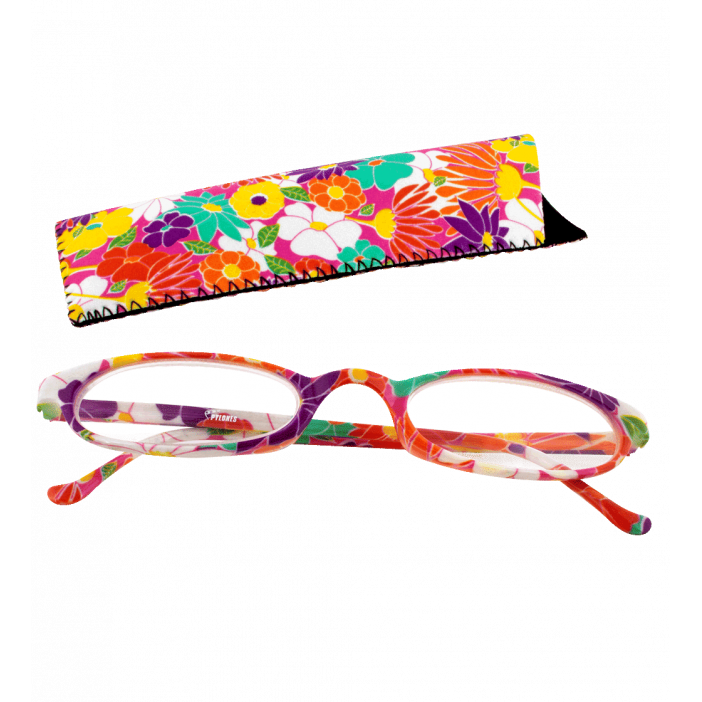Lunettes x4 Ovales Flowers - Corrective lenses