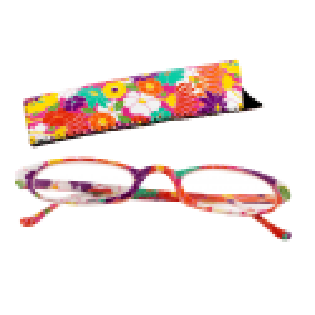 Lunettes x4 Ovales Flowers - Corrective lenses 200