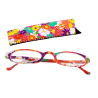 Lunettes x4 Ovales Flowers - Corrective lenses 250