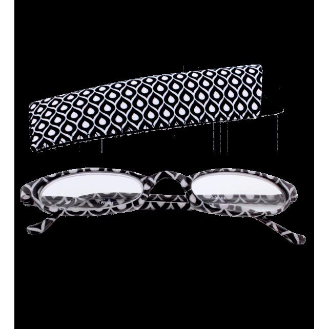 Lunettes x4 Ovales Paon – Korrekturbrille 100