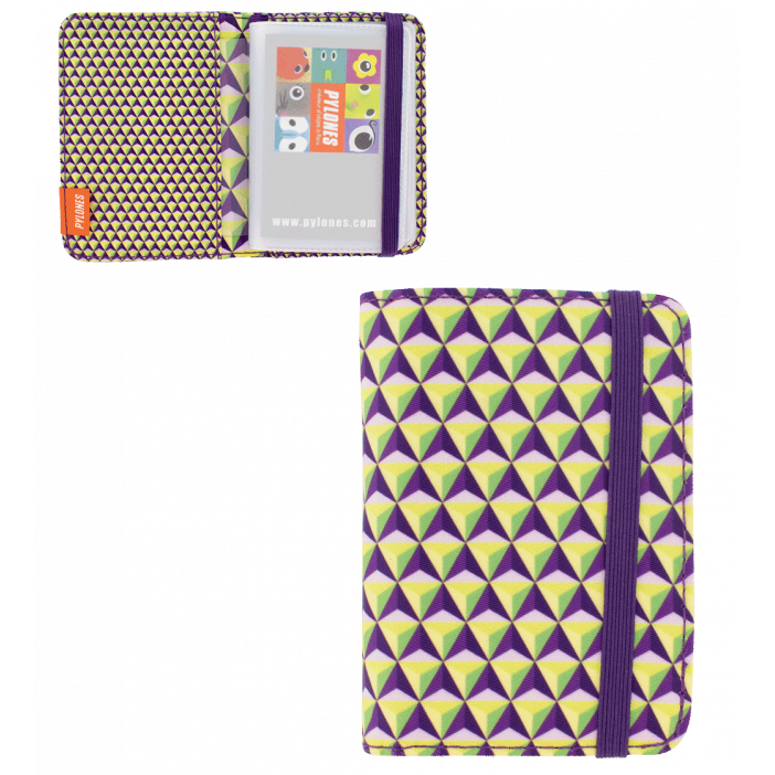 Keep My Contact - Porte cartes de visite Violet